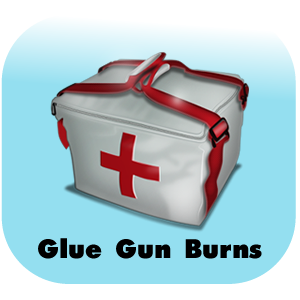 Glue Gun Burns