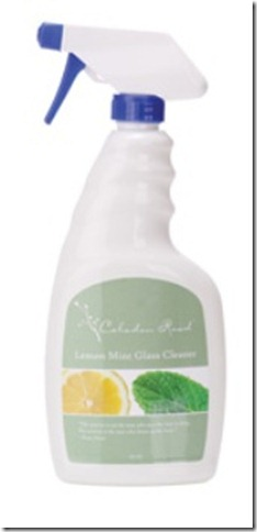 lemon mint glass cleaner